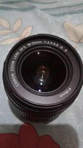Lensa canon 18 / 55 isll 650rb