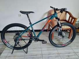 Sepeda Polygon Xtrada 6 upgrade