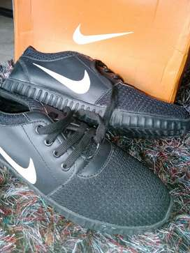 NIKE Black Sports shoe with Original Box