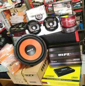 Plus Pasang,Sub MRZ+Power MRZ+Speker Pioneer+Tweeter Dotech+Box+Kabel""