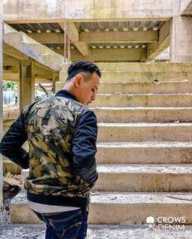Jaket Army Basseball Comby – SK110
