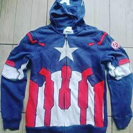 Jaket Zipper Marvel Avengers Original Second