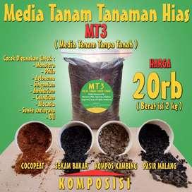 Media Tanam Tanaman Hias / tanah pupuk