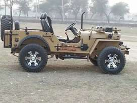 AJAY modified jeeps