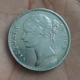 Old coin British India rare coin 1839 silver