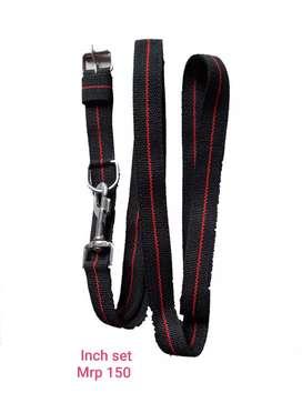 Dog collar leash rope