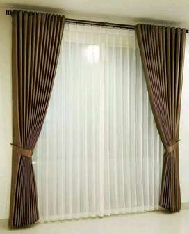 Minimalis Vitrase Gordeng Hordeng Gorden Curtain Gordyn Korden 679