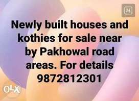 100y house for sale pakhowal road area