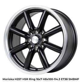 Velg Karimun tipe MORIOKA H257 HSR R16X7 H8X100-114,3 ET38 SMBML