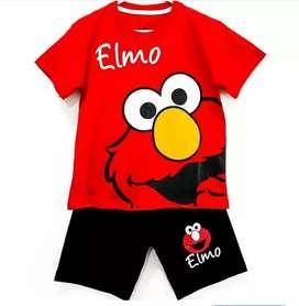 Baju Anak Setelan Elmo 2 - 3 Tshun