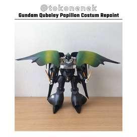 Model Kit Gundam Qubeley Papillon Costum SNAKE Repaint HG