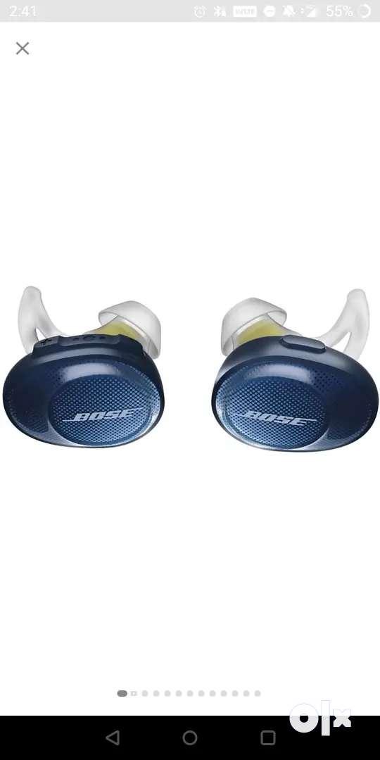 Bose Soundsport truly wireless earphones