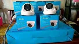 Paket CCTV 4 channel//area Tigaraksa