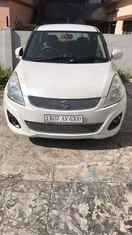 Very good condition swift dezzire white colour vdi owner