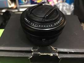 Lensa Fix Pancake Fujinon XF 27mm  F 2.8