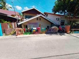 Rumah kampung akses mobil