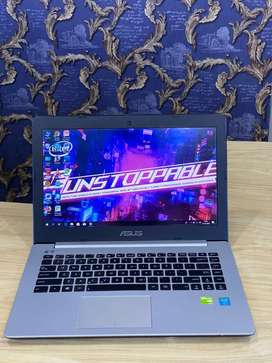 Laptop asus  S451LB,intel Core i5 gen 4 Ram 8Gb Hdd 500Gb Dual Vga