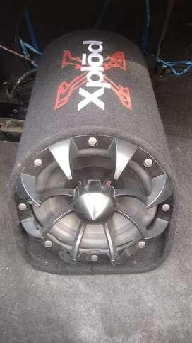 Speaker basstube
