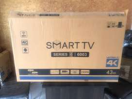 Brand new 40 inch smart and android led tv