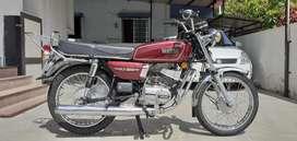 Yamaha rx100 1991 model restored bike