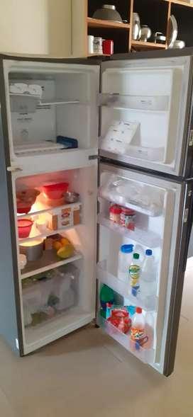 Whirlpool 262 Ltr double door Grey color refrigerator