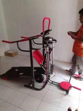 Treadmill manual multy
