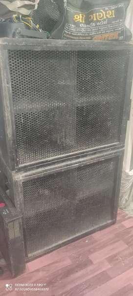"""15"""" Scoop bass box"""