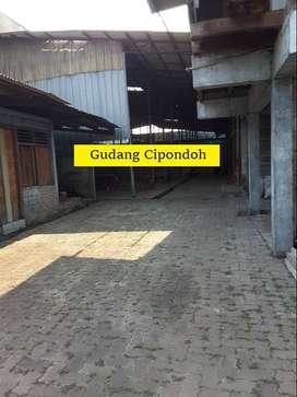 Gudang Cipondoh Tangerang (Luas 3000m) Lokasi Bagus