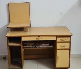 Teak wood computer table