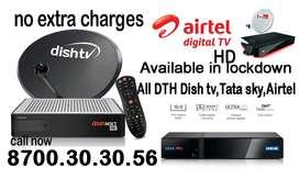 Airtel Digital Dishtv Tatasky Dish tv tata sky airtel xstream Videocon
