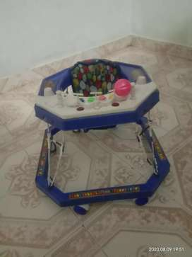 Baby walker excellent condition only rs 100 fix prize
