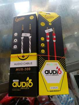 Audio Cable aux-300 panjang 1meter