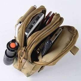 Tas pinggang selempang mini dompet sarung hp army tactical outdoor a71