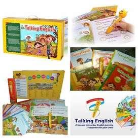 TALKING ENGLISH GROLIER Buku Bahasa Inggris dengan E-pen