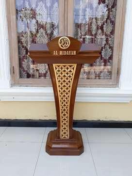 Mimbar indah furniture solid indah klasik presiden