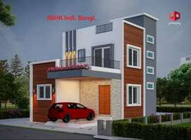 3 bhk individual row house