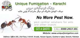 Unique Fumigation, Pest Control Karachi, Termite, Bed Bugs, Cockroach