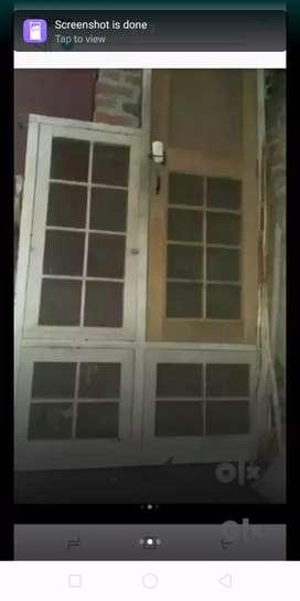 Kitchen window with door sagon and gril