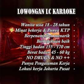 Dibutuhkan Loker LC Spa dan Karaoke