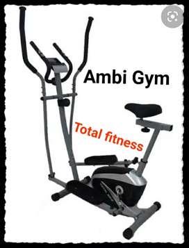 Alat gym crosteiner dual fungsi Total Fitness