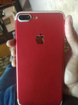 Iphone 7+ chhe ,73% betriy helth,no bill ,no box,