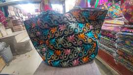 Kashmiri handmade clutches bags and necklaces