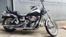 Harley Davidson DYNA wide glide 100th anniv edt. Silver Sterling RARE