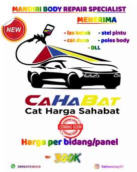 Bengkel cat mobile/motor
