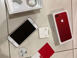 iphone 7 Plus 128GB Red Ori Fullset