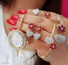 Loket,watch,earings,braslet , ring ...all new ..