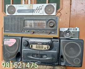 Philips cassette player and radio