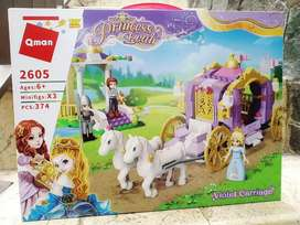 princess leah qman violet carriage BARU READY