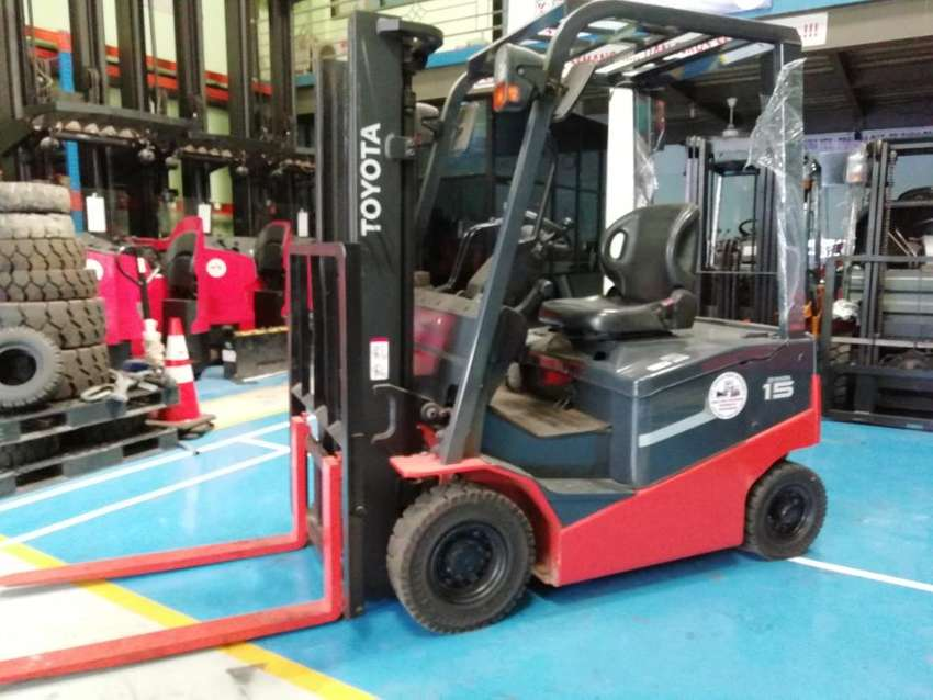 Forklift Battery Toyota 1.5 Ton Second 0