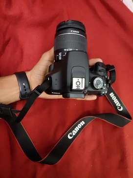 1200 d canon  DSLR camera with 18mm lens